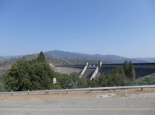 Walking to the dam